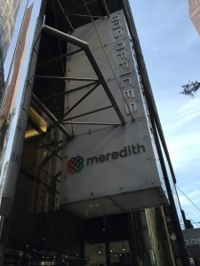 Meredith Corp sign